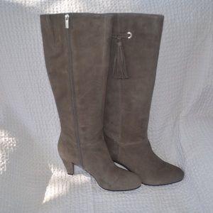 Bandalino grey knee high boots
